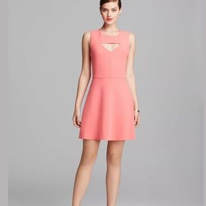 FRENCH CONNECTION Fit & Flair Sleeveless Dress